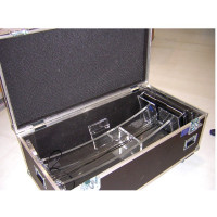 Rollbares Flight Case - Transportkiste